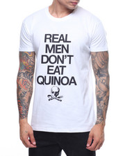 Men - REAL MEN DON'T Eat Quinoa Tee-2208599