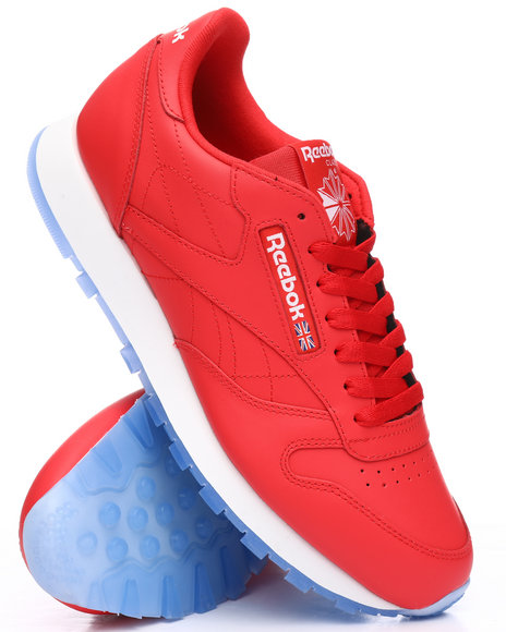 56e0d90516c Buy Classic Leather Ice Sneakers Men s Footwear from Reebok. Find ...