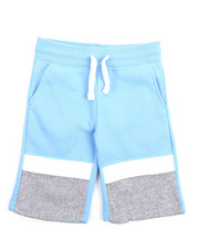 Southpole - Color Block Fleece Shorts (8-20)-2207591