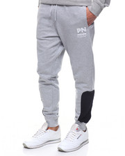 Jeans & Pants - BLACK ANKLE PANEL SWEATPANT