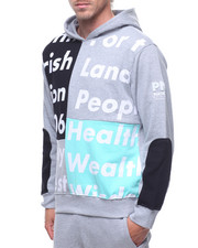Parish - COLOR BLOCK HOODY W TEXT