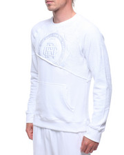 Sweatshirts & Sweaters - TORN TERRY/FLEECE SWEATSHIRT-2208853