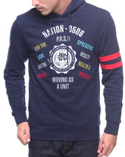 Parish - COLLEGIATE EMBROIDERED HOODY