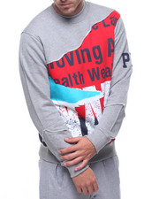 Sweatshirts & Sweaters - TORN GRAPHIC SWEATSHIRT-2208826