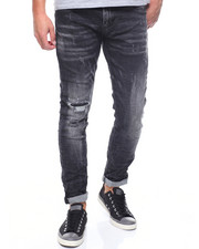 Jeans - WORNOUT KNEE STRETCH JEAN
