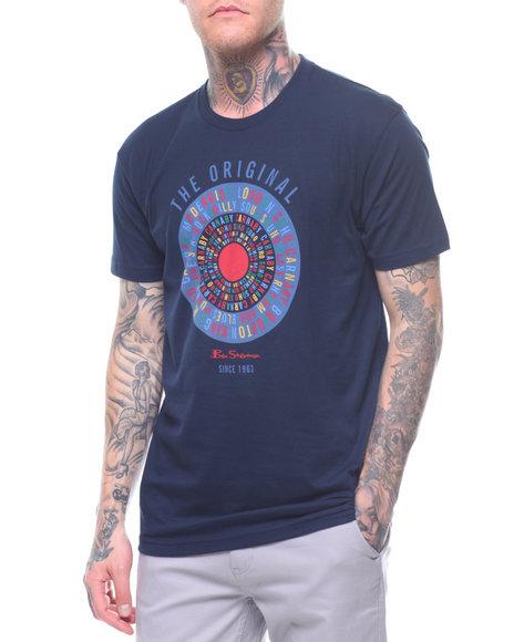 c9697f5f7 Buy TEXT TARGET GRAPHIC TEE Men's Shirts from Ben Sherman. Find Ben ...