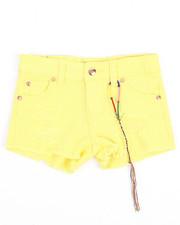 Girls - Rip & Repair Hipster Shorts (4-6X)-2209211