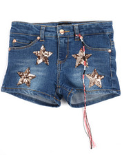 Shorts - Hipster Short Star Patches (7-16)-2209194