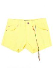 Girls - Rip & Repair Hipster Shorts (7-16)-2209205
