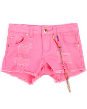 Girls - Rip & Repair Hipster Shorts (7-16)-2209216