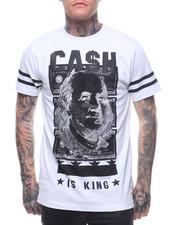 Men - CASH IS KING STONE TEE-2209700