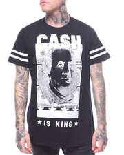 Men - CASH IS KING STONE TEE-2209695