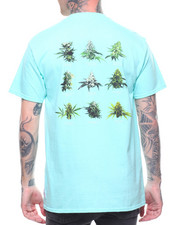T-Shirts - SMOKERS LOUNGE STRAINS S/S TEE