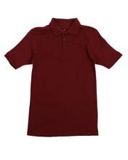 Tops - Solid Pique Polo (8-20)-2207606