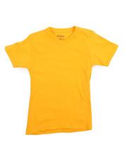 Boys - V-Neck Solid Tee (8-20)-2208018