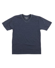 Arcade Styles - V-Neck Solid Tee (8-20)-2208736