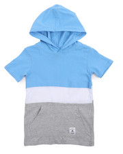 Southpole - Color Block Anorak Hooded Tee (4-7)-2207596