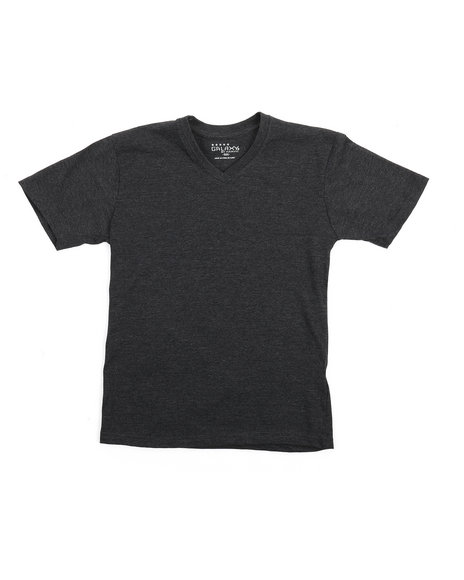 Arcade Styles - V-Neck Solid Tee 8-20)
