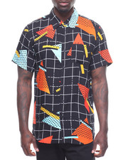 Stylist Picks - Geo Grid Woven Shirt