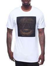 T-Shirts - PROVIDENT EYE GOLD BRUSHED EMBOSSED TEE