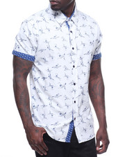 Button-downs - Pelican Printed Woven
