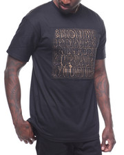 T-Shirts - TRAP MUSIC GOLD BRUSHED EMBOSSED TEE
