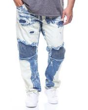 Jeans - Moto Biker Jeans/Rip & Repair (B&T)-2210031