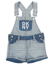 Girls - Denim Short Overall (4-6X)