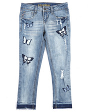 Girls - Floating Butterfly Jeans (7-16)