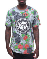 Men - HOPE FLOWER TEE