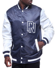Light Jackets - LETTERMAN NYLON JACKET-2210540