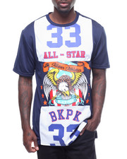 Men - ALL STAR TEE W MESH PANEL