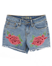 Girls - Double Rose Short (7-16)