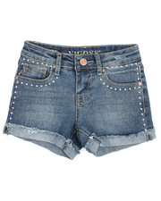 Girls - Stud Detail Short (7-16)