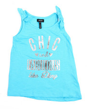 Tops - Chic & Fabulous Top (7-16)