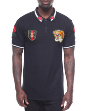 Men - TIGER AND ROSES POLO