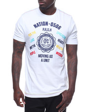 Men - COLLEGIATE EMBROIDRED SS TEE