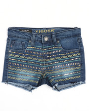 Girls - Sequin Stripe Short (4-6X)