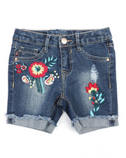 Girls - Floral Garden Short (4-6X)