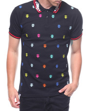 Short-Sleeve - MULTI COLOR CROWN BEE POLO-2210649
