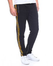 Reason - Embossed Terry Track Pants-2211926