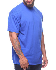 T-Shirts - S/S Solid Crew Neck Tees (B&T)-2211108