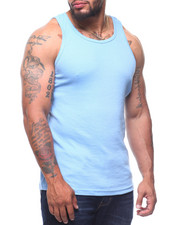 Men - Heavy Weight Rib Tank Top (B&T)-2211093