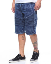 Buyers Picks - NAILHEAD STRETCH MOTO DENIM SHORT-2211977