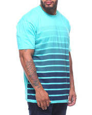 T-Shirts - S/S Crew Neck Stripe Tees (B&T)-2211125
