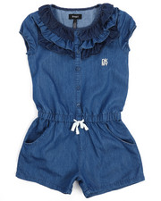 Bottoms - Ruffle Romper (7-16)-2211190