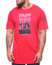 AKOO - S/S Trio Scoop Tee (B&T)