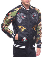 Reason - Skull and Roses Bomber-2211881