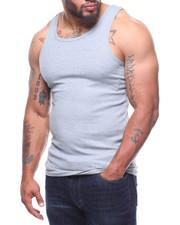 Men - Heavy Weight Rib Tank Top (B&T)-2211103
