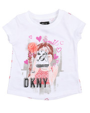 DKNY Jeans - Take My Pic Tee (2T-4T)